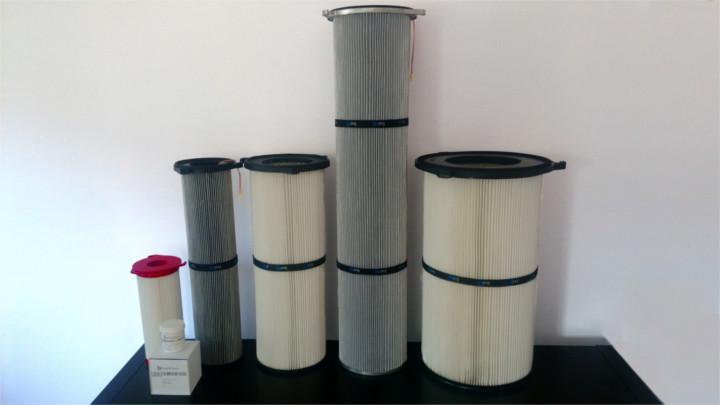 Gama cartuchos filtrantes